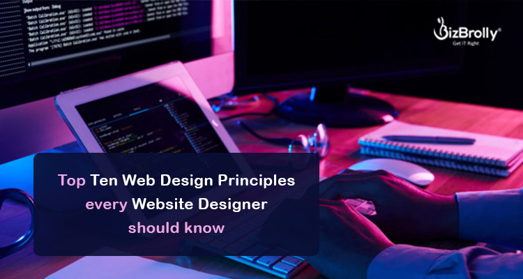 top 10 web design principles which a designer must know